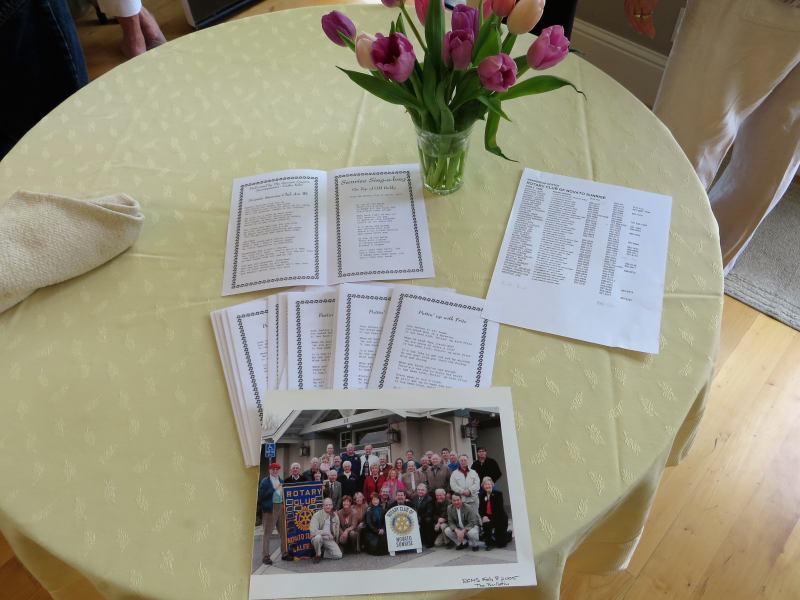 The Gala Begins, programs are ready, guest list is extensive!
