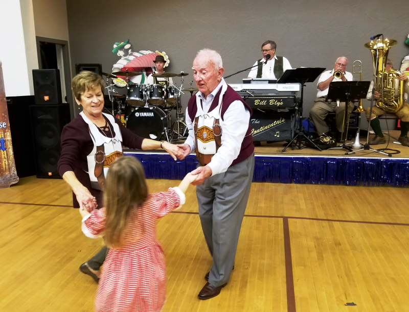 Dancing for all ages begins