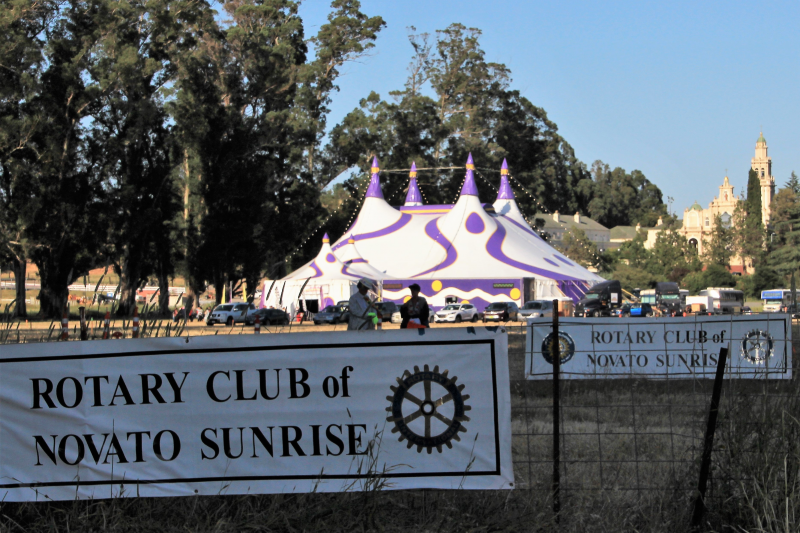 Novato Sunrise Rotary - Circus Host for Marin County communities